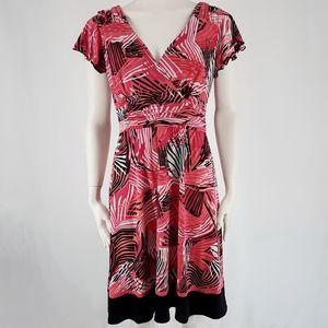 Sandra Darren | Empire Waist Flutter Sleeve Dress